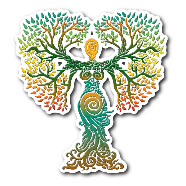 Mother Goddess Sticker - The Moonlight Shop