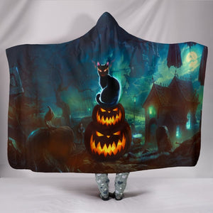 NP Halloween Hooded Blanket - The Moonlight Shop