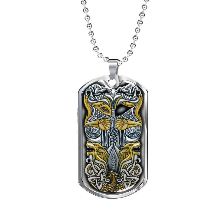 Odin Dog Tag - The Moonlight Shop