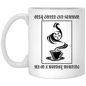 Only Coffee Can Summon Me Mug - The Moonlight Shop