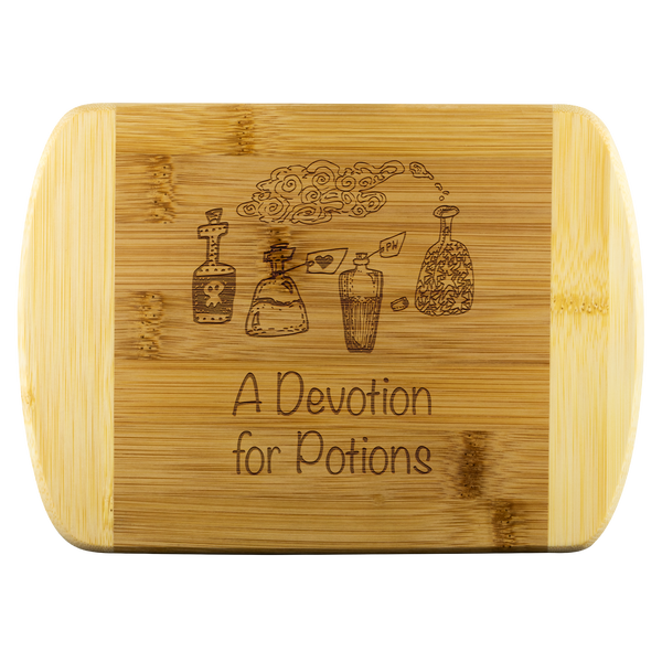 Devotion For Potions Wood Cutting Board