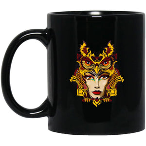 Owl Woman Mug - The Moonlight Shop