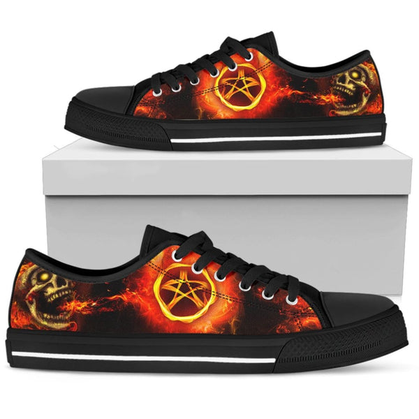 Passion For Wicca Womens Low Top Shoes - The Moonlight Shop