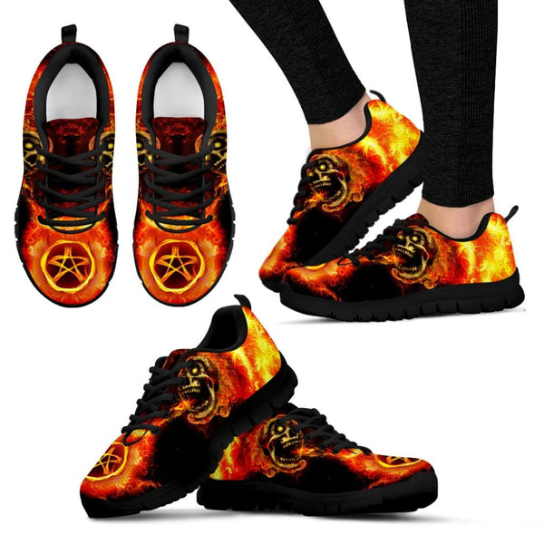 Passion For Wicca Womens Sneakers - The Moonlight Shop