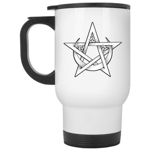 Pentacle And Crescent Moon Mug - The Moonlight Shop