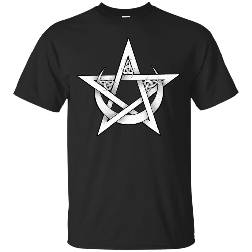 Pentacle and Crescent Moon Shirt