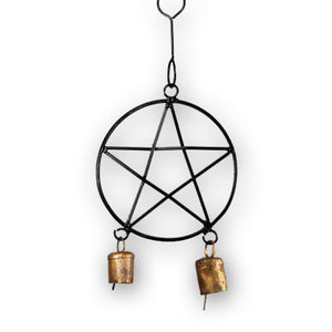 Pentacle Evil Away Wind Chime - The Moonlight Shop
