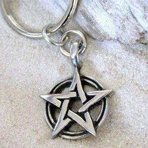 Pentacle Keychain - Special Upgrade Offer - The Moonlight Shop