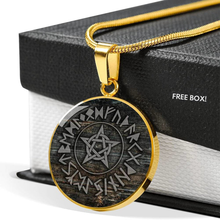 Pentacle Of Elder Luxury Necklace - The Moonlight Shop