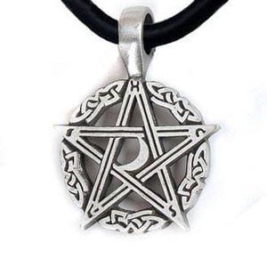 Pentacle With Crescent Moon - The Moonlight Shop
