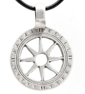 Plain Wheel Of The Year Pendant - The Moonlight Shop