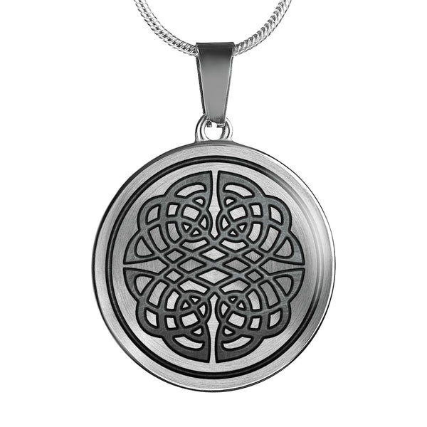 Protective Knotwork Luxury Necklace - The Moonlight Shop