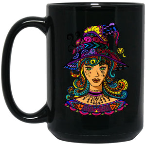 Psychedelic Witch Mug - The Moonlight Shop