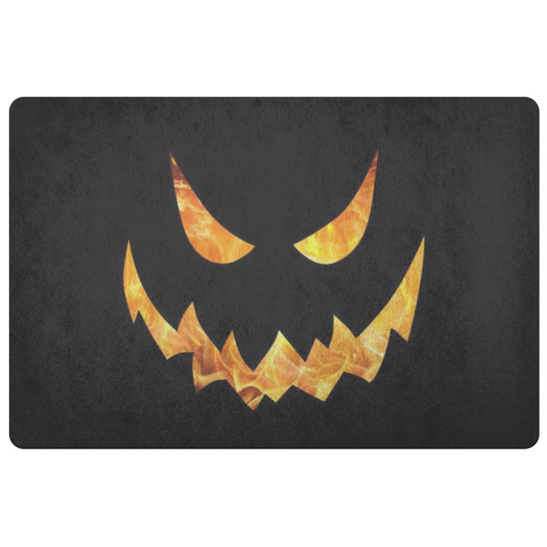 Pumpkin Face Doormat - The Moonlight Shop
