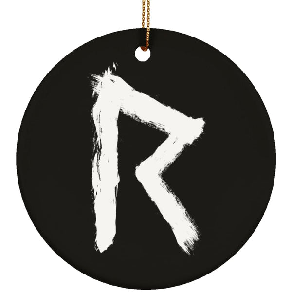 Raidho Rune Ornament - The Moonlight Shop