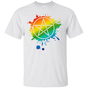 Rainbow Pentacle Shirt - The Moonlight Shop