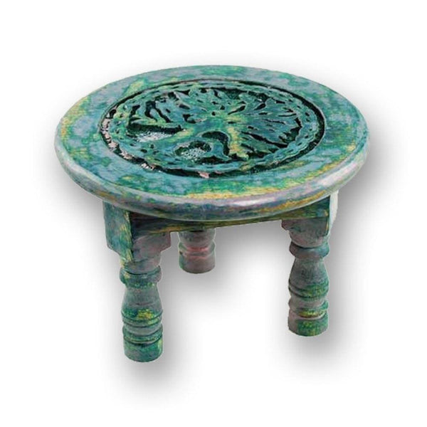 Round Tree Of Life Altar Table - The Moonlight Shop