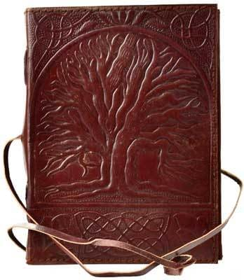 Sacred Oak Tree Book Of Shadows - The Moonlight Shop
