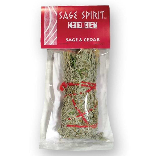 Sage & Cedar Smudge Stick (5) - The Moonlight Shop