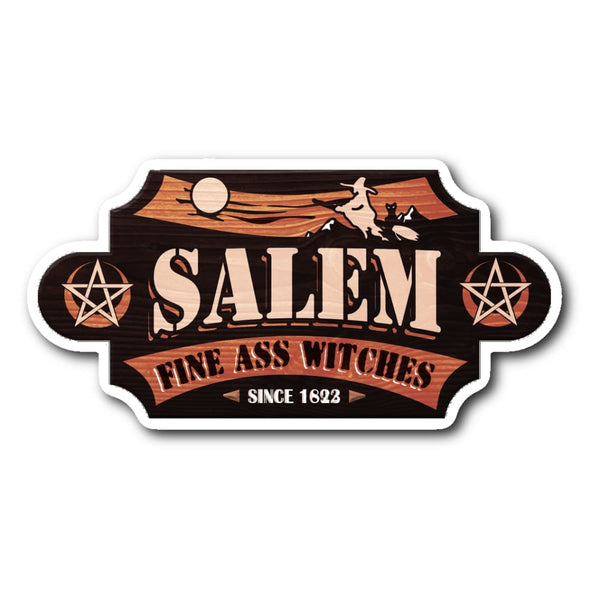 Salem Export Sticker - The Moonlight Shop