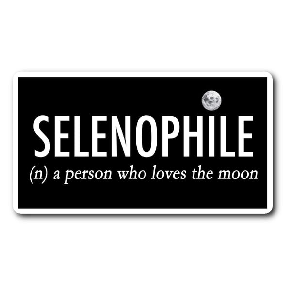Selenophile Sticker - The Moonlight Shop