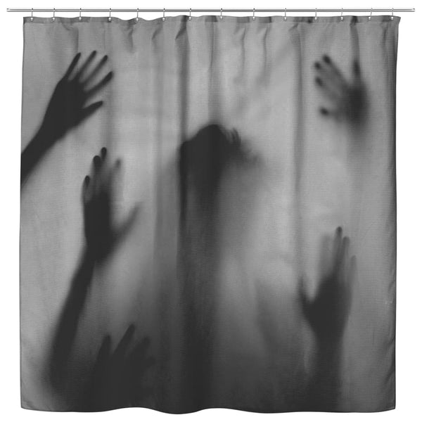 Shadow Hands Shower Curtain - The Moonlight Shop