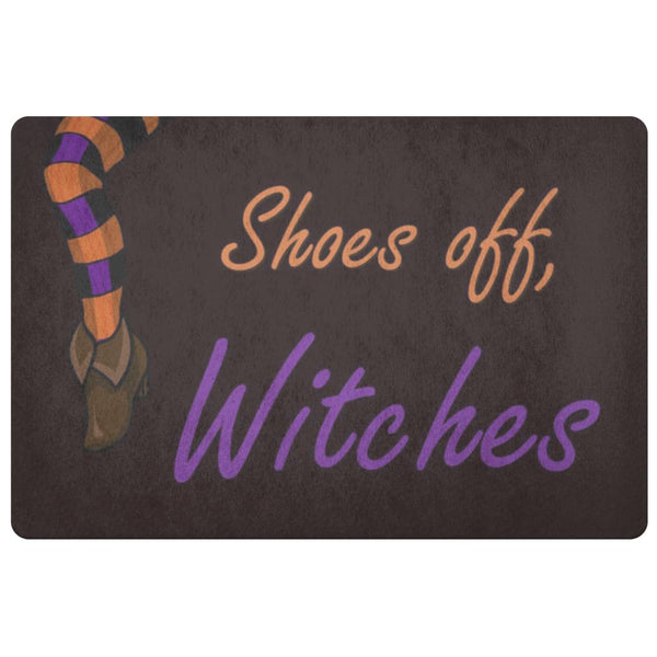 Shoes Off Witches Doormat - The Moonlight Shop