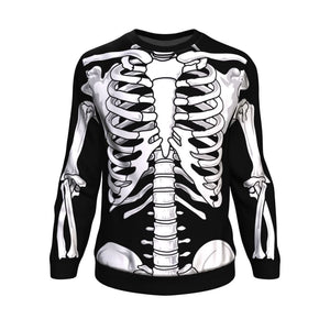 Skeleton Sweatshirt - The Moonlight Shop