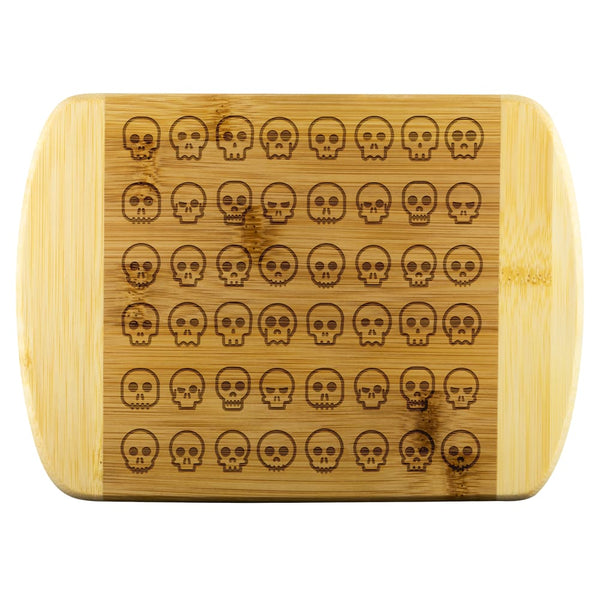 Skulls Wood Cutting Board - The Moonlight Shop