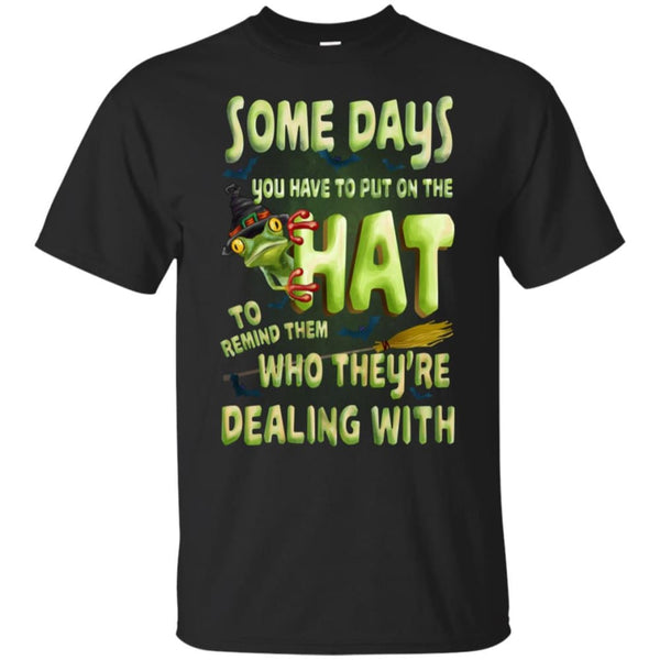 Some Days You Have To Put On The Hat Shirt - The Moonlight Shop