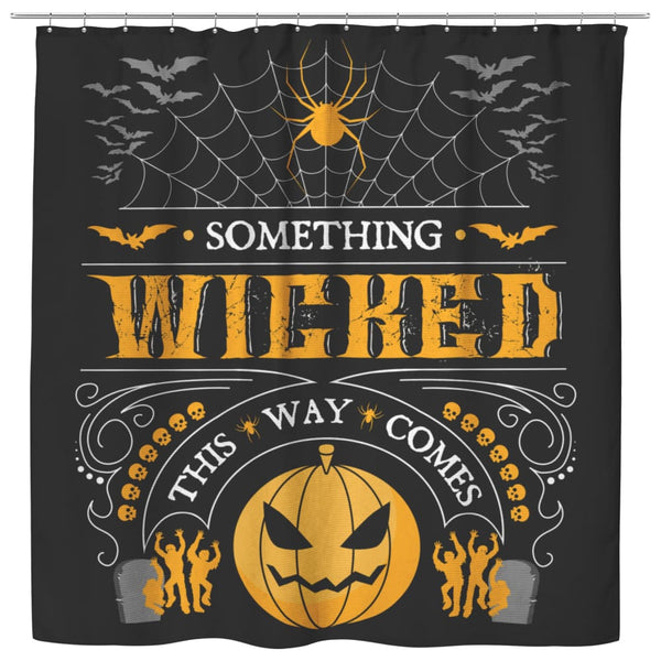 Something Wicked This Way Comes Shower Curtain - The Moonlight Shop