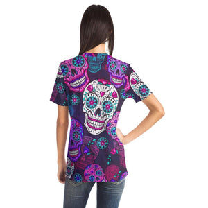 Sugar Skull Unisex T-Shirt - The Moonlight Shop