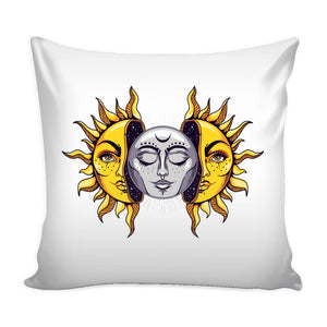 Sun And Moon Pillow - The Moonlight Shop