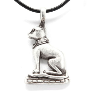 The Egyptian Cat Goddess Necklace - The Moonlight Shop