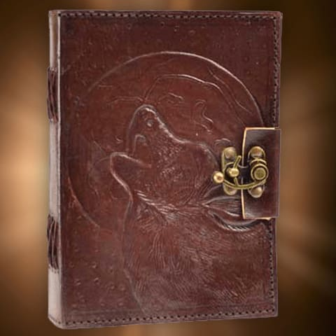 The Howling Wolf Book Of Shadows - The Moonlight Shop