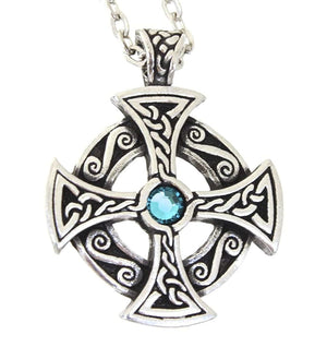 The Solstice Solar Cross Necklace - The Moonlight Shop