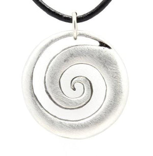 The Spiral Of Life Pendant - The Moonlight Shop