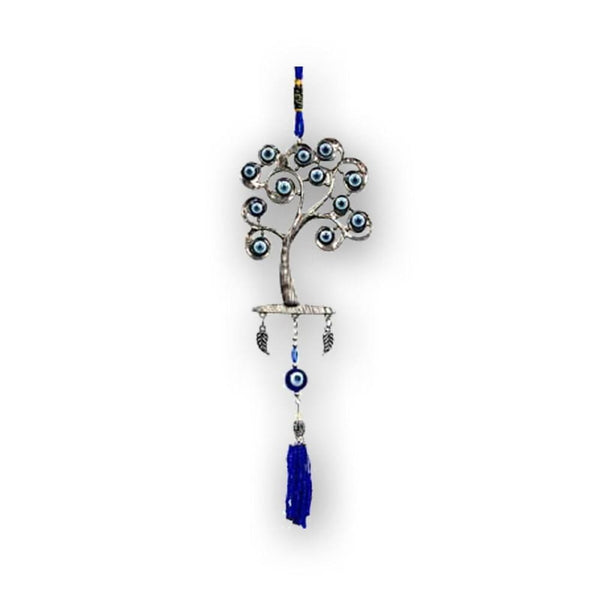 The Tree Of Life Evil Eye Wind Chime - The Moonlight Shop