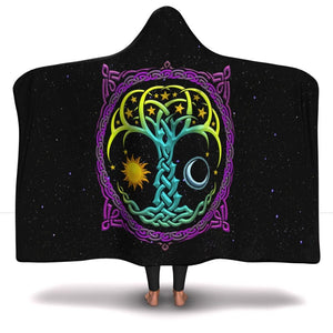 The Tree Of Life Hooded Blanket (limited run) - The Moonlight Shop