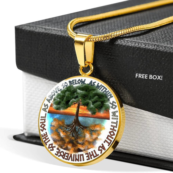 The Tree Of Life Luxury Necklace - The Moonlight Shop