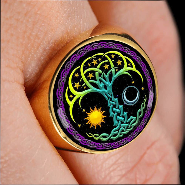 The Tree of Life Ring (limited run) - The Moonlight Shop