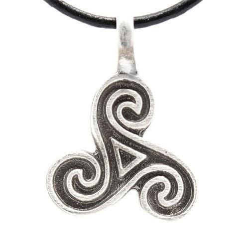 The Triple Spiral Necklace - The Moonlight Shop