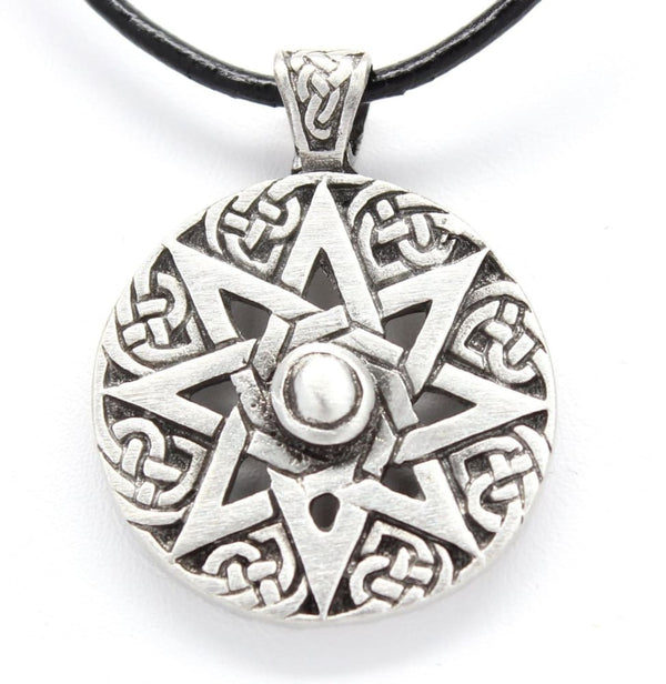The Wheel Of Life Octogram Pendant - The Moonlight Shop