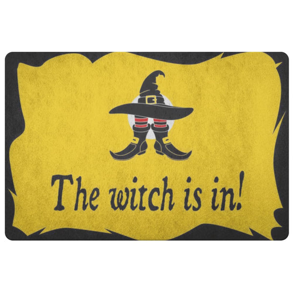 The Witch Is In Doormat - The Moonlight Shop