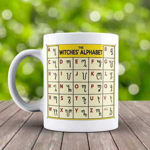 The Witchs Alphabet Mug - The Moonlight Shop