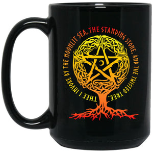 Thee I Invoke By The Moonlit Sea Mug - The Moonlight Shop