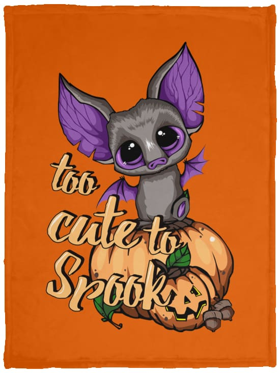 Too Cute To Spook Fleece Blanket - The Moonlight Shop