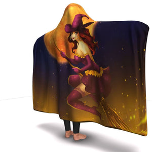 Top Of The City Hooded Blanket - The Moonlight Shop