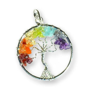 Tree Of Life Complete Chakra Pendant - The Moonlight Shop