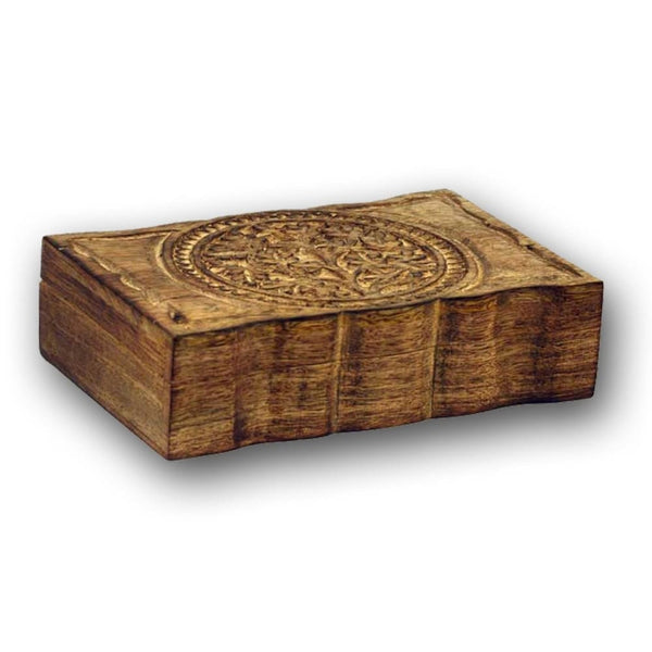 Tree Of Life Wooden Box - The Moonlight Shop